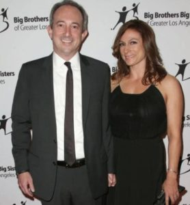 Amy Povich with her hubby David
