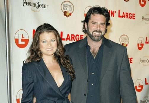 Yasmine Bleeth with her spouse Paul Cerrito Source: whosdatedwho